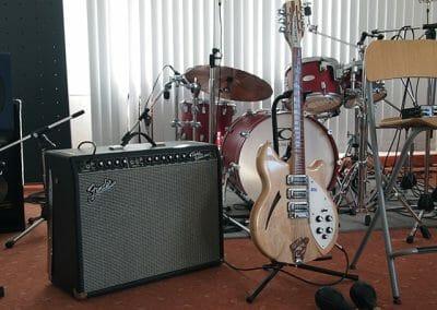 Volle Band-Ausstattung wenn benötigt